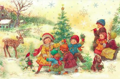 Tallinna lastehaigla heategevuslik joulukaart 2016