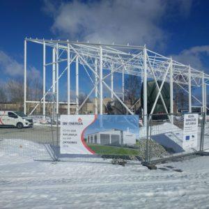 SW Energia Kehra katlamaja ehitamine 2018 aastal
