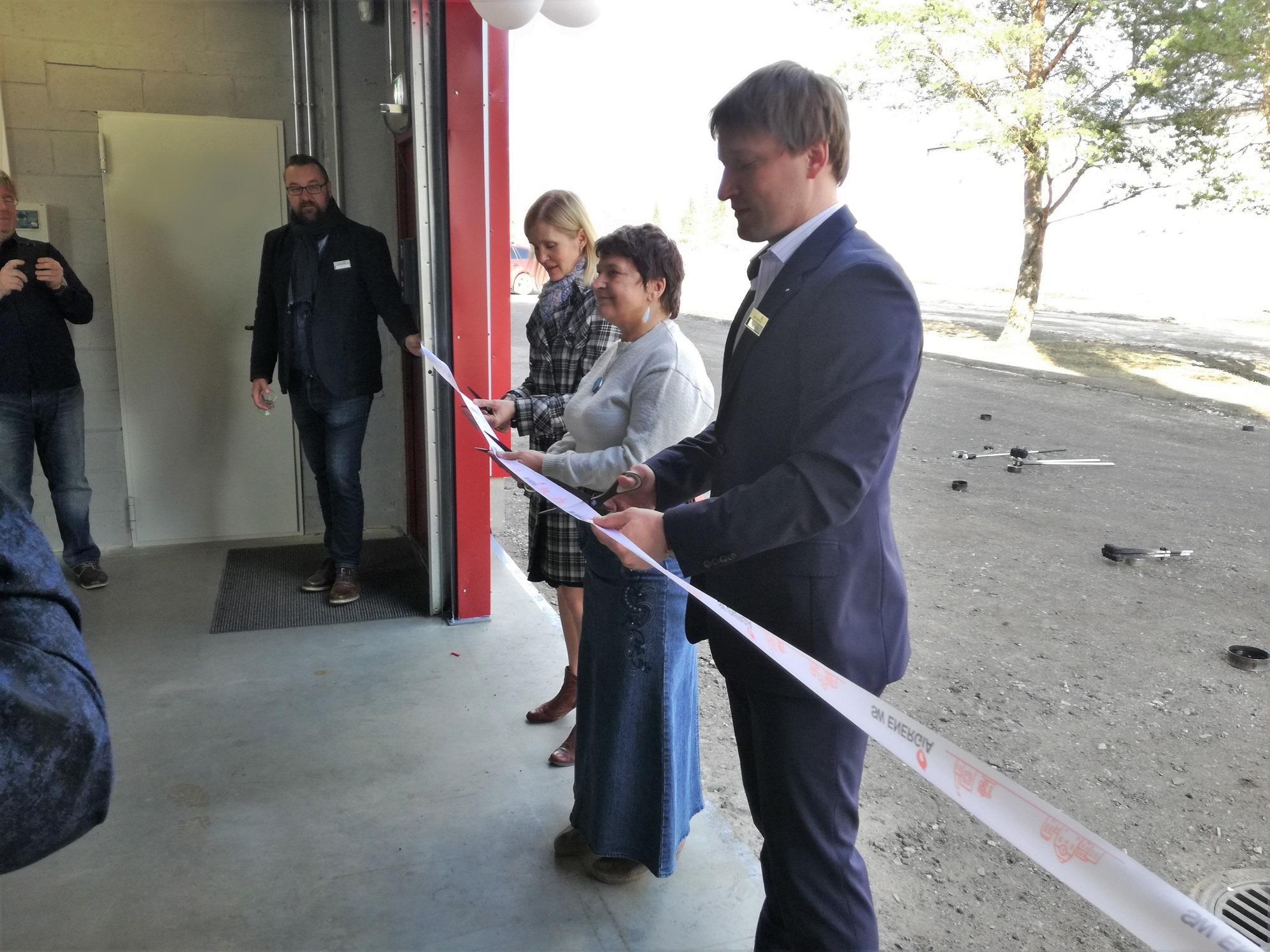 Türi katlamaja avamine toimus 19. aprillil 2018