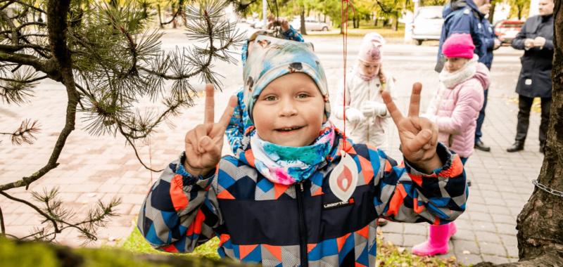 Helkuripuu Pärnu kesklinnas