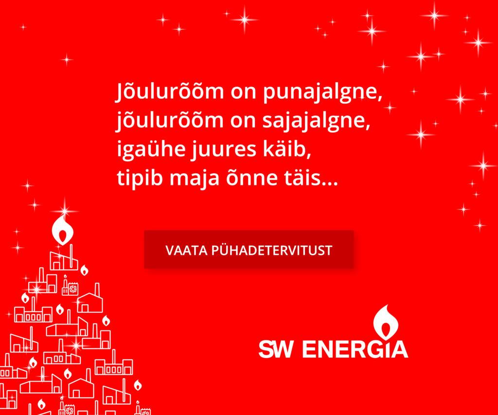 SW Jõulutervitus